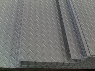 Walkways / Stairs Stainless Steel Sheets and Plates , stainless sheet metal