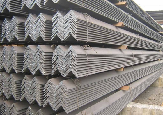 চীন 201 304 Hot rolled peeling pickled stainless steel / SS angle bar ASTM সরবরাহকারী