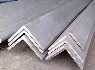 2mm-25mm Thickness 201 Stainless Steel Angle Stock Polished Surface